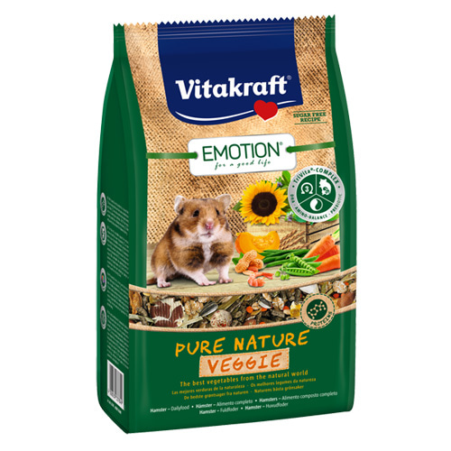 [비타크래프트]Emotion Pure Nature VeggieHamster 600g(4개)(33784)유통기한2021.08